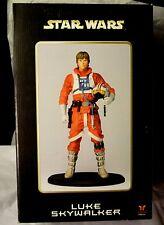 Star Wars Attakus Luke Skywalker X-Wing Pilot Statue New from 2001 .