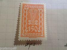 AUTRICHE AUSTRIA, 1922, timbre 273, ARMOIRIES, neuf*, OSTERREICH VF MH STAMP