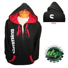 dodge cummins hoodie sweat shirt sweatshirt hooded sweater truck ZIPPER 2XL 2X