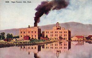 Postcard Sugar Factory in Lihi, Utah~112329