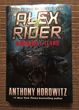 Crocodile Tears by Anthony Horowitz - Hardcover Book - Alex Rider
