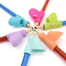 Aid Grip Posture Correction Fashion Tool Children Pencil Holder Pen Writing 3Pcs