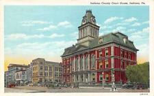 PA, Pennsylvania       INDIANA COUNTY COURT HOUSE   Courthouse     1946 Postcard