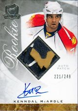 08-09 The Cup JERSEY AUTO ROOKIE xx/249 Made! Kenndal McARDLE #106 - Panthers