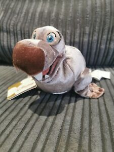 Disney Store Little Mermaid Dash Walrus With Tag Rare