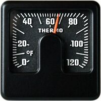 Bimetall Fahrenheit Thermometer Reliefskala RICHTER / HR Art. 4666 justierbar