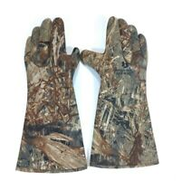 "Mossy Oak Duck Blind Mens Seamless Neoprene Decoy Gloves Size L (8.5""palm) 16"""