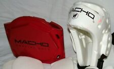 Macho Martial Arts Karate Sparring Gear- Head, Chest, Shin Guards Child/ Youth