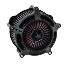 Roland Sands Turbine Air Cleaner - Harley Sportster 91-19 Black