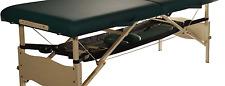 Massage table portable mesh adjustable shelf