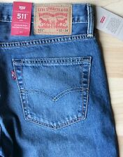 Levi's 511  Denim Jeans  W32 X L34      BRAND NEW WITH TAGs.  100% Cotton