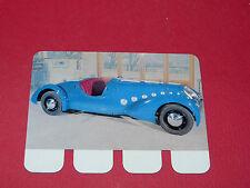 N°65 PEUGEOT 402 1936 PLAQUE METAL COOP 1964 AUTOMOBILE A TRAVERS AGES