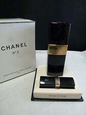 Vintage CHANEL No 5 Spray Cologne SPRAY  REFILLABLE CONTAINERS SET OF 2 IN BOX