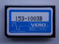 DC-DC-Wandler Vero 153-1003B 5V -> +-12V 40 mA