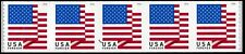 2018 US STAMP - US FLAG - FOREVER COIL STRIP OF 5 (BCA) - SC# 5261