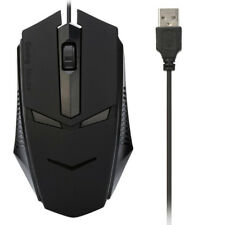 For PC Laptop 1200 DPI USB Wired Optical Gaming Mouse Mice Office Standard Mouse