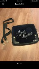 Juicy Couture Crossbody Laptop Handbag Blue Pocketbook Purse Computer Bag