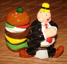 Popeye's Wimpy & Hamburger Salt & Pepper Shakers (Westland, 15130)