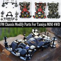 Replacement FM Metal Chassis Modify Parts Set For Tamiya Mini 4WD RC Car Model