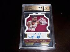 POP 1 BGS 9.5 KYRIE IRVING TOP NOTCH GOLD Die-Cut AUTO - Jrsy# 2/10 True 1/1