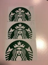 *STARBUCKS* Card - NEW Never Been Used 'White Siren' NO $ Value lot of 3