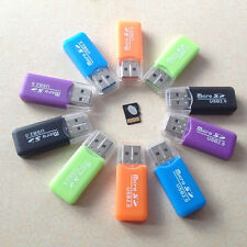 20PC/Lot USB 2.0 Micro SD TF Memory Card Reader Mini Adapter For Laptop PC F10