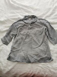 Poetry Blouse / Shirt Size 16 linen
