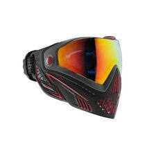 New Dye I5 Thermal Paintball Goggle Goggles Mask - Fire Black / Red