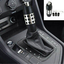 Universal Alloy Aluminum Car Automatic Gear Shift Knob Stick Shifter With Button