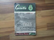 More details for royal ulster 'constabulary gazette' - august 1950 vintage police irish magazine