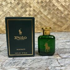 Vintage 1978 Polo By Ralph Lauren 0.5 oz 5 Ml Eau De Perfume