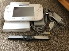 Nintendo Wii U 8gb White Console With Gamepad And Leads