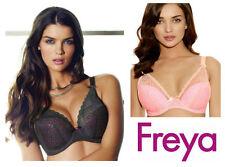 Freya Icon Moulded Plunge Bra 1663 Milkshake Pink or Storm Grey * New Lingerie