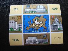 HONGRIE - timbre yvert et tellier bloc n°151 n** (non dentele)(Z9)stamp hungary