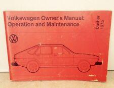 buy 75 car owner operator manuals ebay rh ebay co uk VW Repair Manual Owner's Manual