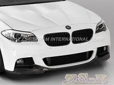 Carbon Fiber VOS Look Front Bumper Add Lip for 2011+ BMW 528i 535i 550i M-Tech
