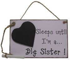 Big Sister Chalkboard Announcement/Pregnancy/Countdown New Baby