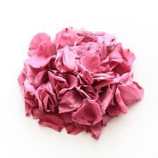 Pink natural biodegradable rose petals for wedding confetti / decoration
