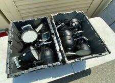 Lot of 8 Used Irradiant Neo Neon Dj Par38 Dmx Rgb stage light uplight great cond