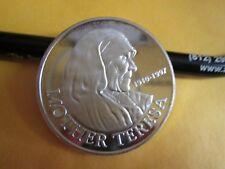 Mother Teresa .999 fine   Silver oz