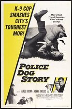 POLICE DOG STORY -1961- Orig 27x41 movie poster- MERRY ANDERS - K-9 Division