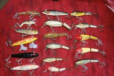 VINTAGE L & S FISHING LURE LOT GREAT VARIETY AND SIZES