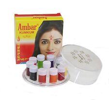 Ambar Liquid Kumkum Liquid Bindi 11 Colours Indian Wedding Tattoo Body Art