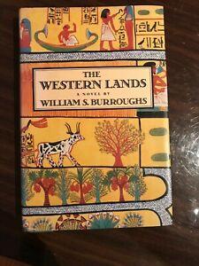 """The Western Lands""  William S Burroughs, 1st Ed. 1987  HC"