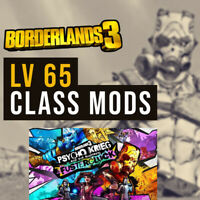 Borderlands 3 (PS4 / Xbox) Lv 65 Class Mods Buy 2 Get 1 F | Amara Zane FL4K Moze