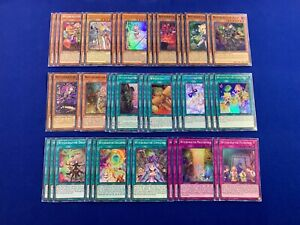 Yu-Gi-Oh! - Complete Witchcrafter Deck