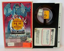 HE-MAN AND THE MASTERS OF THE UNIVERSE VOL. VI BETA BETAMAX VIDEO CASSETTE TAPE
