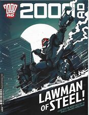 *2000 AD PROG 2027 - 19 APR 2017: LAWMAN OF STEEL! JUSTICE SERVED BY MACHINE [1]