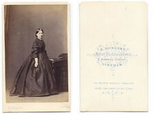 CDV Lady named Lottie Mason Carte de Visite Photograph by Slingsby of Lincoln