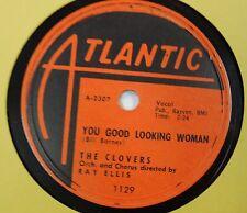 the CLOVERS 78 Here Come's Romance ATLANTIC 1956 Rn'B Doo Wop  w152